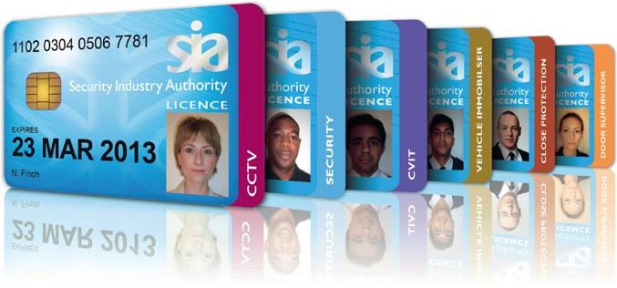 SIA licences